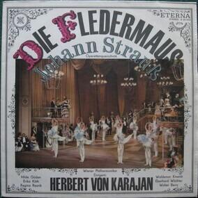 Johann Strauss II - Die Fledermaus - Operettenquerschnitt (Karajan)