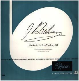 Johannes Brahms - Sinfonie Nr. 1 c-moll op. 68