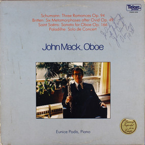 John Mack - John Mack, Oboe