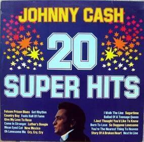 Johnny Cash - 20 Super Hits