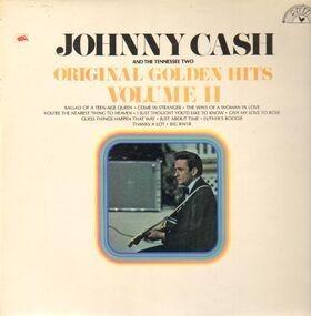 Johnny Cash - Original Golden Hits Volume II
