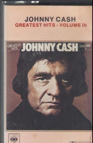Johnny Cash - Greatest Hits Volume III