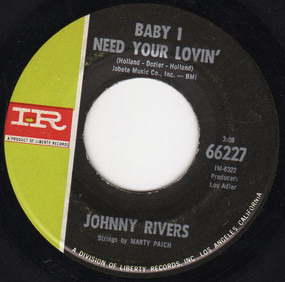 Johnny Rivers - Baby I Need Your Lovin'