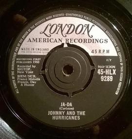 Johnny & the Hurricanes - Ja-Da / Mr. Lonely