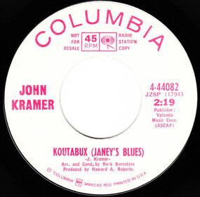 Jonathan Kramer - Koutabux (Janey's Blues) / Pack Your Valise