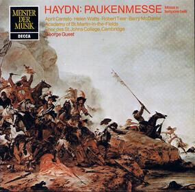 Franz Joseph Haydn - Paukenmesse -  Missa In Tempore Belli