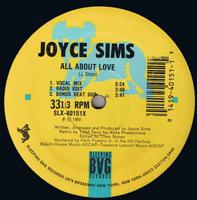 Joyce Sims - All About Love