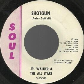 Junior Walker - Shotgun / Hot Cha