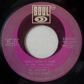 Junior Walker - What Does It Take (To Win Your Love) / Brainwasher (Part 1)