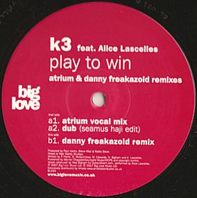 K3 - Play To Win (Atrium & Danny Freakazoid Remixes)