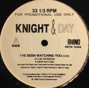 Knight Time - I've Been Watching You