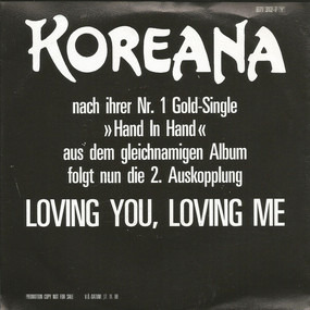 Koreana - Loving You, Loving Me
