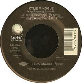 Kylie Minogue - It's No Secret