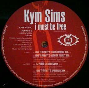 Kym Sims - I Must Be Free