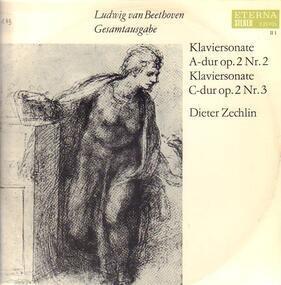 Ludwig Van Beethoven - Klaviersonate A-dur,Klaviersonate C-dur; D. Zechlin