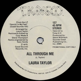 Laura Taylor - All Through Me