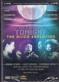 Leo Sayer - Get Down Tonight - The DIsco Explosion