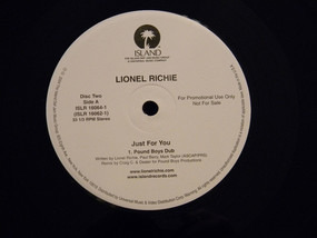 Lionel Richie - Just For You - The Dance Remixes