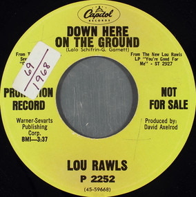 Lou Rawls - Down Here On The Ground