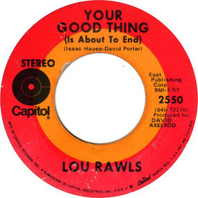 Lou Rawls - Your Good Thing (Is About To End) / Season Of The Witch