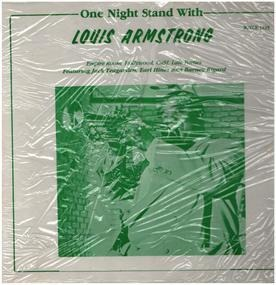 Louis Armstrong - One Night Stand With Louis Armstrong