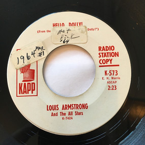 Louis Armstrong - Hello, Dolly! / A Lot Of Livin' To Do