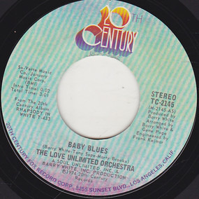 Barry White - Baby Blues / What A Groove
