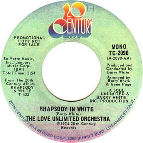 Barry White - Rhapsody in White