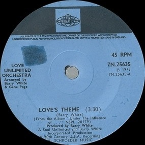 Barry White - Love's Theme / Sweet Moments