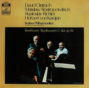 Ludwig Van Beethoven - Tripelkonzert C-dur op.56,, D.Oistrach, M.Rostropowitsch, S.Richter, Karajan, Berliner Philh