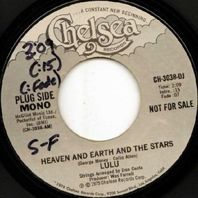 Lulu - heaven and earth and the stars