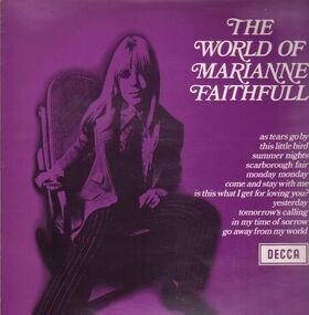 Marianne Faithfull - The World Of Marianne Faithfull