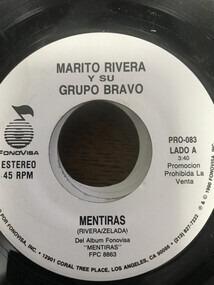 Marito Rivera y Su Grupo Bravo - Mentiras