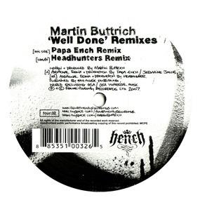 Martin Buttrich - Well Done Remixes