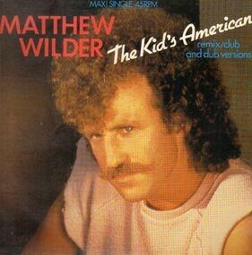 Matthew Wilder - The Kid's American(rmx/club version)