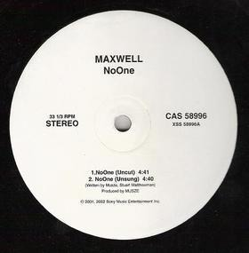 Maxwell - NoOne / For Lovers Only