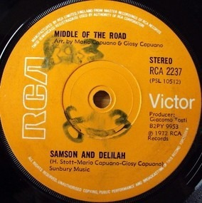Middle of the Road - Samson And Delilah
