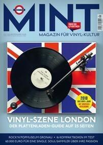 MINT _ Magazin für Vinyl-Kultur - Ausgabe 25 - 01/19