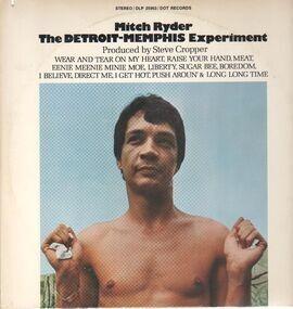 Mitch Ryder & the Detroit Wheels - The Detroit - Memphis Experiment