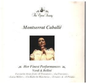Montserrat Caballe - Her Finest Performances - Verdi & Bellini