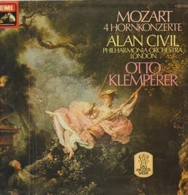 Wolfgang Amadeus Mozart - 4 Hornkonzerte,, Alan Civil, Philh Orch London, O. Klemperer