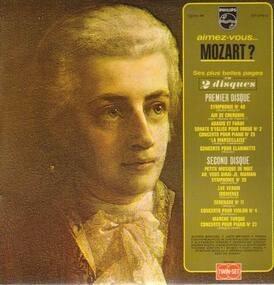 Wolfgang Amadeus Mozart - aimez-vous Mozart?