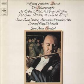 Wolfgang Amadeus Mozart - Die Flötenquartette; I.Stern, A.Schneider, L. Rose, J.P. Rampal