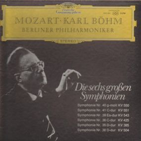 Wolfgang Amadeus Mozart - Die sechs großen Symphonien  (Karl Böhm)