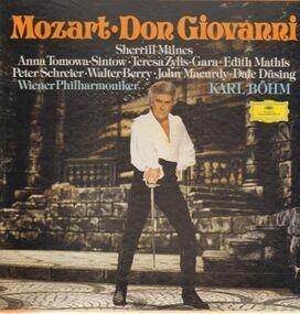 Wolfgang Amadeus Mozart - Don Giovanni,, Wiener Philharmoniker, Karl Böhm