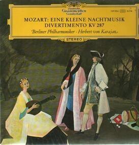 Wolfgang Amadeus Mozart - Eine Kleine Nachtmusik, Divertimento; Berliner Philh., H.v. Karajan