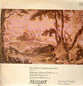 Wolfgang Amadeus Mozart - Eine kleine Nachtmusik,, Staatskapelle Dresden, Suitner