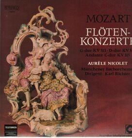 Wolfgang Amadeus Mozart - Flötenkonzerte,, Nicolet, Münchener Bachorch, Richter