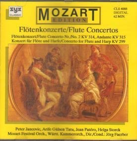 Wolfgang Amadeus Mozart - Flötenkonzerte