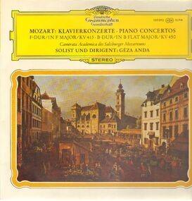 Wolfgang Amadeus Mozart - Klavierkonzert,, Geza Anda, Camerata Academica des Salzburger Mozarteums